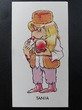 TANIA - PG Tips Monkey / Chimp Characters by Brooke Bond & Co. Ltd