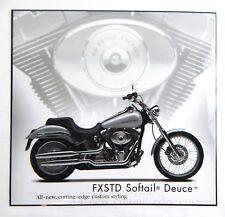 Harley Davidson FXSTD Softail Deuce Motorcycle Laminated Print