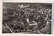 H 271 -Friedrichshafen Schloß  mit Zeppelin und Zeppelinwerft, Luftbild 1941 gl