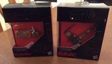 Star Wars The Black Series Titanium Poe?s X-Wing Fighter 12,Rey's Speeder 05