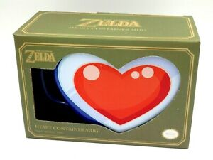 Mug Big Size Zelda Heart Container By Paladone