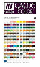 VALLEJO GAME COLOR - ALL COLORS PAINTS 17ml