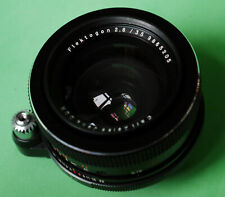 Zeiss Jena FLEKTOGON 2.8/35 mm lens in Exa Exakta mount – near mint