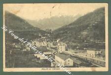 Liguria. MOLINI DI TRIORA, Imperia. Cartolina d'epoca viaggiata nel 1925.