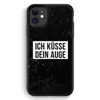 Ich Küsse Dein Auge iPhone 11 Silikon Hülle Motiv Design Cool Witzig Lustig S...