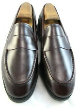 "NEW Allen Edmonds ""MERCER STREET""  Penny Loafers 7 D Mahogany   (281)"