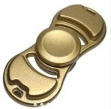 High Quality Fidget Spinner Toys EDC Spinner, Pure Copper or Aluminum Hand-GOLD