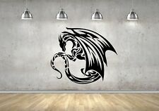 Wall Sticker Mural Decal Vinyl Decor Dragon Legendary Creature Myths