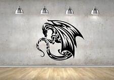 Wall Sticker Mural Decal Vinyl Decor Dragon Legendary Creature Myths