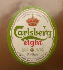 VINTAGE CANADIAN BEER LABEL - CARLING O'KEEFE BREWERY, CARLSBERG LIGHT BEER #3