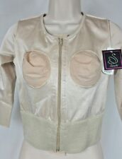 Annette After Cosmetic Surgery Body Suit Jacket Med 3/4 Sleeve NWT $124   CB50