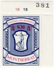 (I.B) Montserrat Revenue : Duty Stamp $30