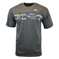 CHEVROLET Mens Tee T Shirt SS Z/28 Corvette American Muscle Car Logo Racing NEW