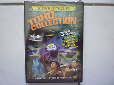Icons of Sci-Fi Toho Collection (The H-Man Battle in Outer Space Mothra DVD OVP)
