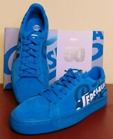 Puma Suede Classic x Pepsi Trainers  UK Size 5 Blue Lace Up  NEW WITH BOX