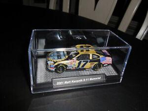 2001 Matt Kenseth #17 DeWalt 9-11 Memorial Flag Car NASCAR 1/64 Custom Hood Open