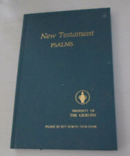 New Testament Psalms The Gideons In Australia Religion Bible Blue Hardcover