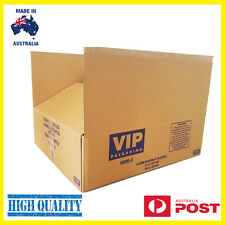 25 x Moving Boxes Cardboard Removalist Packing Cartons- STRONG CORRUGATED BOARD
