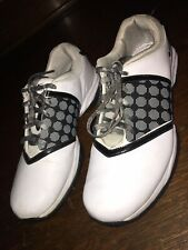 Nike Womens Air Embellish Golf Shoe Cleats 418379-100 Size 9.5 Us