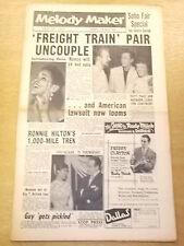 MELODY MAKER 1957 JULY 20 PATTIE PAGE RONNIE HILTON JAZZ BIG BAND SWING