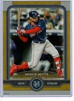 Mookie Betts 2019 Topps Museum 5x7 Gold #11 /10 Red Sox