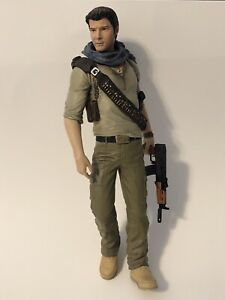 """⭐️Uncharted 3 Drake's Deception Collector's  NATHAN DRAKE 7"""" Action Figure Only"""
