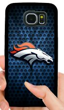 DENVER BRONCOS PHONE CASE FOR SAMSUNG GALAXY & NOTE S6 S7 EDGE S8 S9 S10 E PLUS