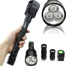 Hunting 50000LMS 5 Modes 18650 Flashlight TrustFire LED XML 3x T6 LED Torch Lamp