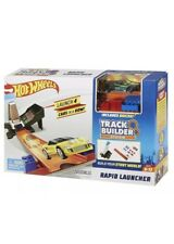 Hot Wheels Track Builder System Rapid Launcher Track Set Playset With Vehicle