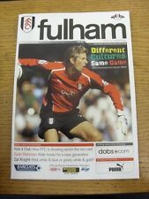 16/10/2004 Fulham v Liverpool  . Thanks for viewing this item, buy with confiden