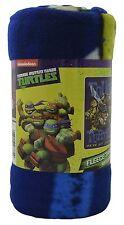 "Blanket Teenage Mutant Ninja Turtles TMNT Throw Soft Fleece 46""x60"" Gift Idea"