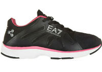 Emporio Armani Baskets Vigor Noir Training