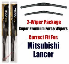 Wipers 2-Pack Hi-Performance fits 2013+ Mitsubishi Lancer - 25260/180