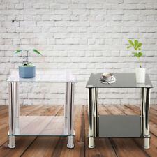 Mesas de centro de salón de vidrio para el hogar