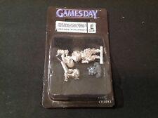 Gamesday 2008. 40k Space Marine Astartes capitaine avec Thunderhammer Entièrement neuf dans sa boîte