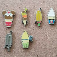 Disney Pin Hidden Mickey 2018 Frozen Treats lot of 5 with Completer and Chaser