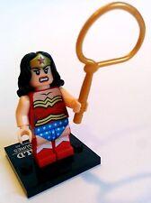 Wonder Woman Minifigure - new in bag - Lego compatible figure figurine