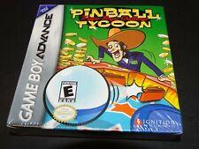 Pinball Tycoon - Game Boy Advance US Version - NEW Sealed