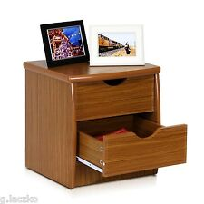 Night Stand Chest Drawer Bed Side Furniture Bedroom Table Simple Design Wood New