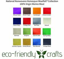 National Nonwovens Homespun WoolFelt® Collection - 100% Wool Felt 9