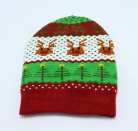 New Womens Winter Christmas Tree Reindeer Holiday Hat by Collection XIIX #CH7