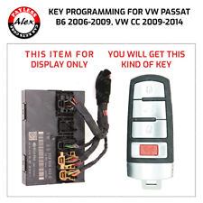 VW PASSAT 2006+, CC 2009+ SMART KEY PROGRAMMING BY BCM - MAIL IN MODULE SERVICE