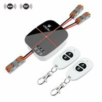 Smart WiFi RF Wireless Remote Control Light Switch Alexa Google Home 90-250V 2Ch