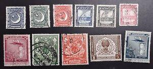 Pakistan 1949 1951 used Mi ex 47 ff