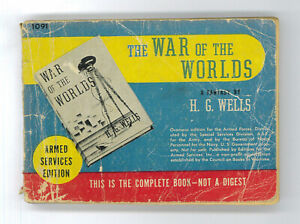 The War Of The Worlds. H.G. Wells. US Armed Services Edition (in english)