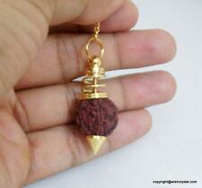 New Rudraksha Pendulum Authentic Healing Dowsing Rudraksh Gift Energy Chakra A+