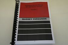 Massey Ferguson MF1000 Tractor Workshop Service Manual