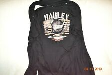 Harley-Davidson Softail Embellished Cardigan With Detachable Scarf Size 1Xl/2Xl