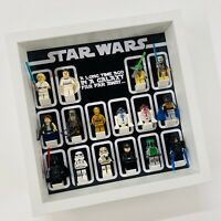 Display Frame for Lego Star Wars Logo minifigures no figures 27cm