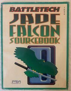 Battletech MECHWARRIOR Jade Falcon 1644 FASA Sourcebook 1992 RPG Source book